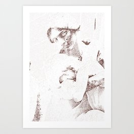 Mother & child Art Print