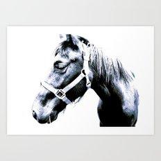 El Caballo Amistoso Art Print