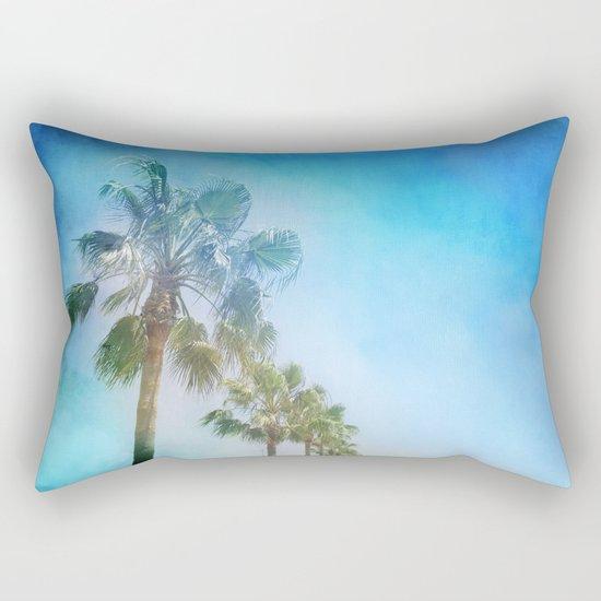 """""""Palms. Beach"""" Rectangular Pillow"""