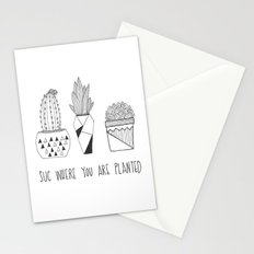 suc where you are planted Stationery Cards