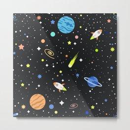 space universe Metal Print