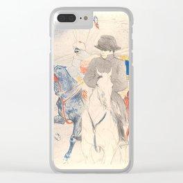 """Henri de Toulouse-Lautrec """"Napoleon"""" Clear iPhone Case"""