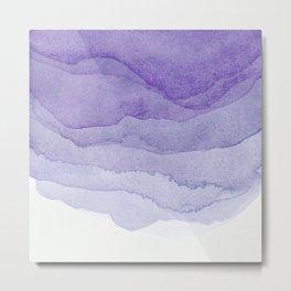 Lavender Flow Metal Print
