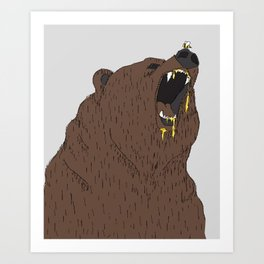 Give me my honey Art Print