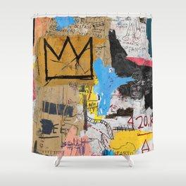 Basquiat Shower Curtains