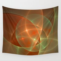 shining Wall Tapestries featuring Shining by gabiw Art