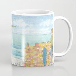 Beach in my Backyard - watercolour print 2 Coffee Mug