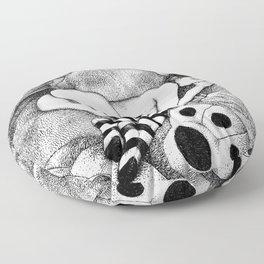 asc 675 - Le plaisir du doigt (The honey thumb) Floor Pillow