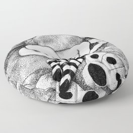 asc 675 - Le plaisir du doigt (The honey thumb) Floor Pillow