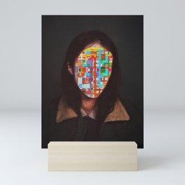 Confuses Mini Art Print
