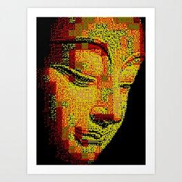 Buddah II Art Print