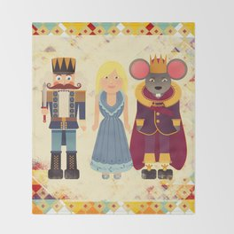 Nutcracker Throw Blanket
