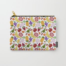 Whoever Heard of Snozberry Fruit Pattern Carry-All Pouch