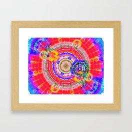 Fractal Kaleidescope Framed Art Print
