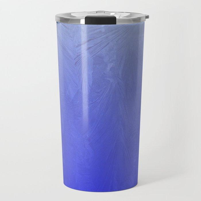 Blue Ice Glow Travel Mug
