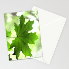 Acer Leave  4356 Stationery Cards
