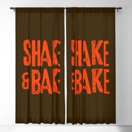 Shake and Bake Blackout Curtain