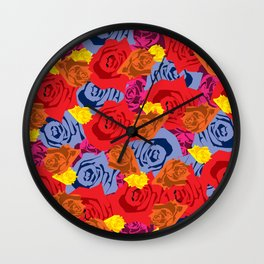 Rose Love Wall Clock