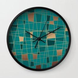 Abstract geometric pattern 11 Wall Clock