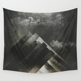 Mount everest and me Wall Tapestry