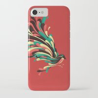 window iPhone & iPod Cases featuring Avian by Jay Fleck