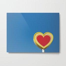 *heart* Metal Print