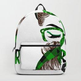 Lucky Registered  St Patricks Day Irish Shamrock  Backpack