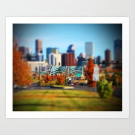 Speer Blvd Art Print