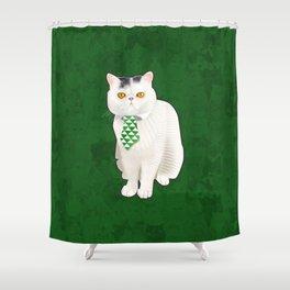 Dagoo (Green) Shower Curtain