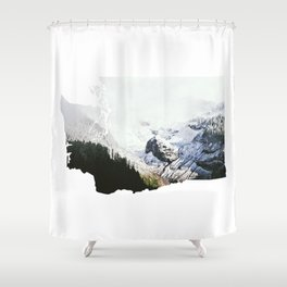 I Love Washington I Shower Curtain