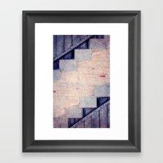 Steps to Freedom Framed Art Print