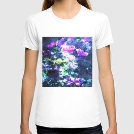 Soft Violet Flowers By Annie Zeno T-shirt