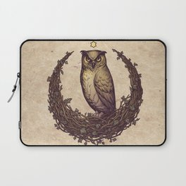 Owl Hedera Moon Laptop Sleeve
