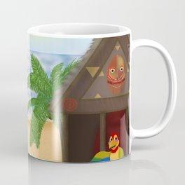 """Welcome to Polynesian Paradise"" Coffee Mug"
