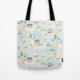 Summer On The Islands Tote Bag