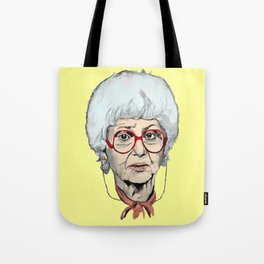 Sophia Petrillo from The Golden Girls (Yellow) Tote Bag