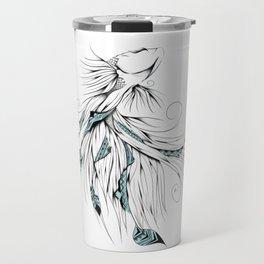 Poetic Betta Fish Travel Mug