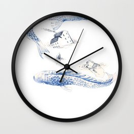 Alluvione | Flood Wall Clock