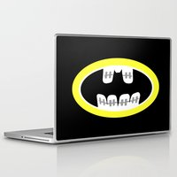 comic book Laptop & iPad Skins featuring Braces/ Comic book by Aztec Pineapple