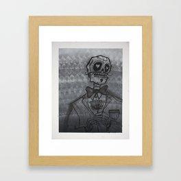 el Caballero (the Gentleman)  Framed Art Print