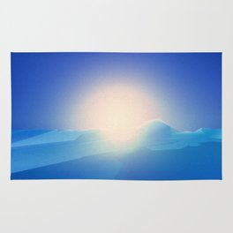Ice Cold Blue Rug