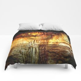 Reflections inside a Dolomite Cave Comforters