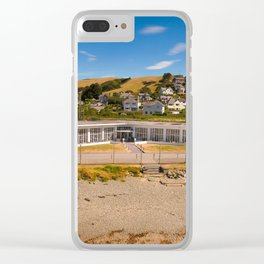 Seafront Cafe Clear iPhone Case