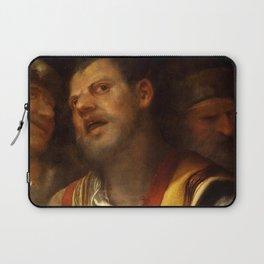 """Giorgione (Giorgio Barbarelli da Castelfranco) """"Sansone deriso"""" or """"The concert"""" Laptop Sleeve"""
