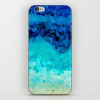 sea iPhone & iPod Skins featuring INVITE TO BLUE by Catspaws