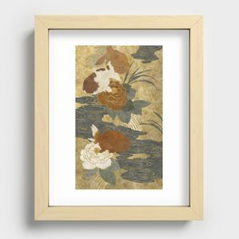 Ranchu Recessed Framed Print