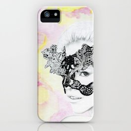 Lily - the leading lover iPhone Case