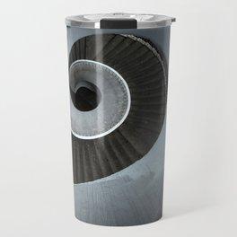 Spiral modern stairs Travel Mug