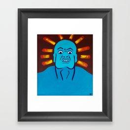 Fear God Framed Art Print
