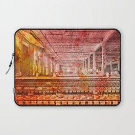 Abandoned Silk Mill - Pastel Grunge Laptop Sleeve